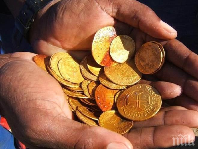 Спипаха мъж, измамил дете да му хвърли злато през терасата