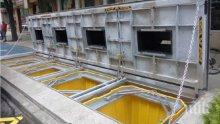 Иновация! Слагат още подземни контейнери в Пловдив