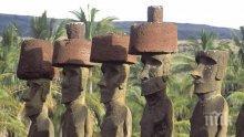МИСТЕРИЯ! Учени предричат скорошно изчезване на прочутите статуи на Великденските острови