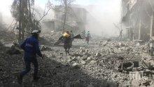 Поредни въздушни удари в Сирия, над 30 са загинали