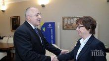 ИЗВЪНРЕДНО И ПЪРВО В ПИК! Борисов се срещна с бъдещата шефка на Европол (СНИМКИ)