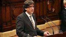 Карлес Пучдемон съжалява, че се е забавил с обявяването на независимостта на Каталуния