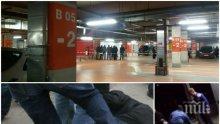 БРУТАЛНО! Яки охранители пребиха мъж на паркинга на варненски мол
