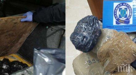 Откриха пакети с марихуана в морето край Дубровник