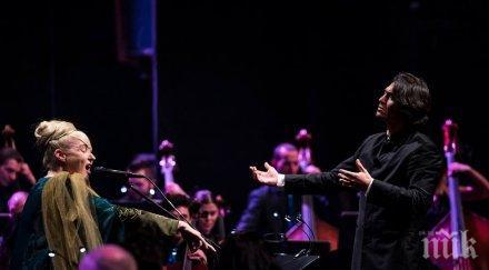 Извънземният глас Лиса Джерард и планетата Камджалов отнесоха публиката в София