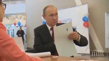 Путин с първи думи след победата - готви промени в кабинета