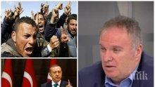 ЕКСКЛУЗИВНО! Проф. Владимир Чуков  с горещ коментар:  Колко терористи са преминали през България, застрашени ли сме от атентати и какво очакваме от  Ердоган във Варна