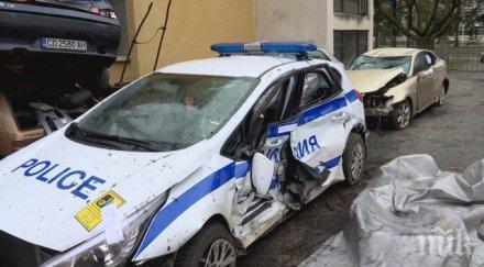 освободиха ареста шофьора блъсна пиян патрулка ботевград снимки