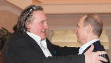 Жерар Депардийо гласува за Путин