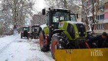 120 снегопочистващи машини са работили на терен в столицата през изминалата нощ