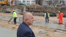"""ИЗВЪНРЕДНО В ПИК! Премиерът Борисов инспектира изграждането на бул. """"Васил Левски"""" във Варна (СНИМКИ)"""