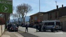 Макрон отдаде почит на загиналия полицай герой