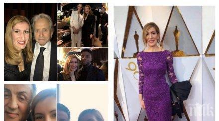 ДО ХОЛИВУД И НАЗАД! Ангелкова разкри с какви пари отскочи до Лос Анджелис и кой избра виолетовата й рокля за Оскарите