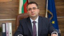 """Министър Нанков дава зелена светлина на строителство от участък на магистрала """"Хемус"""""""