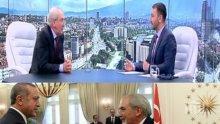 ЦИРК В ЕФИРА! Местан се бие в гърдите: Ние сме българска партия! Беглецът в турското посолство се нацупи на Хекимян
