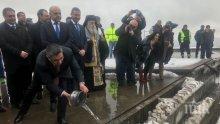 """Нанков даде старт на отсечката Ябланица - """"Боаза"""": През следващите три години ще се изграждат 170 км от """"Хемус"""" (СНИМКИ)"""