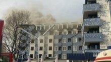 Пожарът в Студенския град избухнал в хотела на юношите от ЦСКА (СНИМКА)