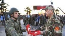 Ердоган отиде на границата със Сирия