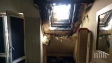 """БЕДСТВИЕ! Ето как изглеждат стаите в опожареното общежитие в """"Студентски град"""" (СНИМКИ)"""