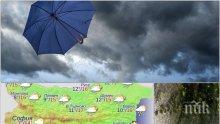 КАПРИЗИ НА ВРЕМЕТО! Дъжд и силен вятър на Цветница, температурите падат