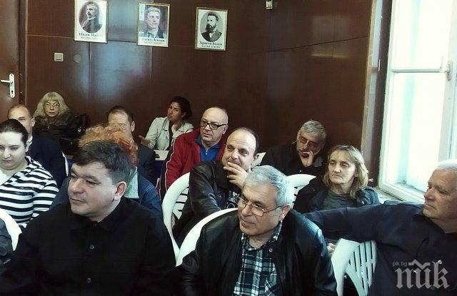 НФСБ в Пловдив твърдо зад лидера Валери Симеонов