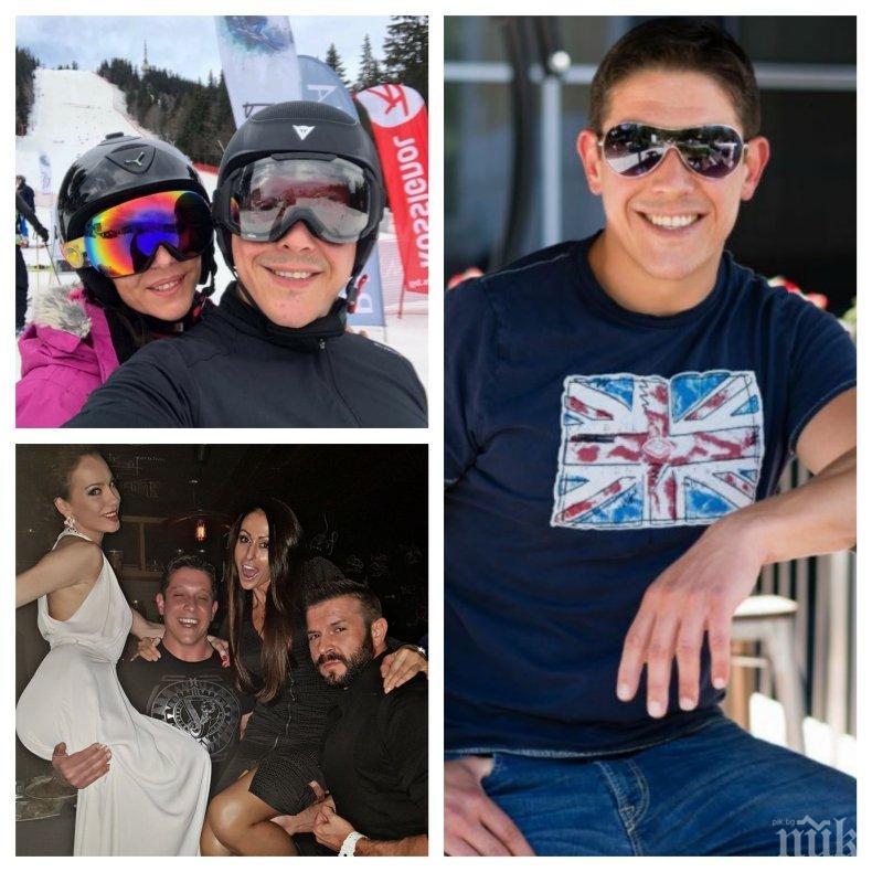 САМО В ПИК! Богомил Грозев палува с 4 жени! Плейбоят от ефира на ски-ваканция с мистериозна брюнетка (СНИМКИ)