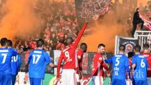 """""""Червените"""" громят в шампионата"""
