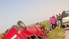 """Още не е ясна причината за катастрофата с буса на магистрала """"Тракия"""" край Ямбол"""