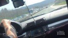ВАЖНО! Не карайте по Цариградско, хвърчат линейка към Вакарел