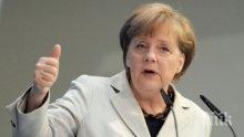 """Ангела Меркел за атаката по Сирия: Възушните удари са """"необходими"""""""
