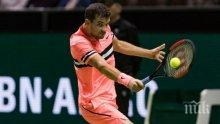 Григор Димитров се пуска и на двойки на турнира в Монте Карло