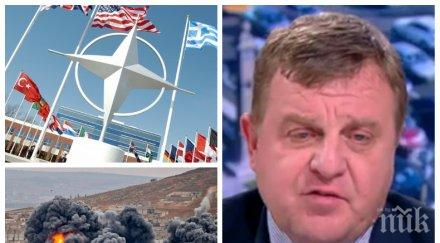 ИЗВЪНРЕДНО В ПИК! Каракачанов с горещ коментар: Има ли искания към България за удари в Сирия и свързан ли е предстоящия КСНС с евентуална война