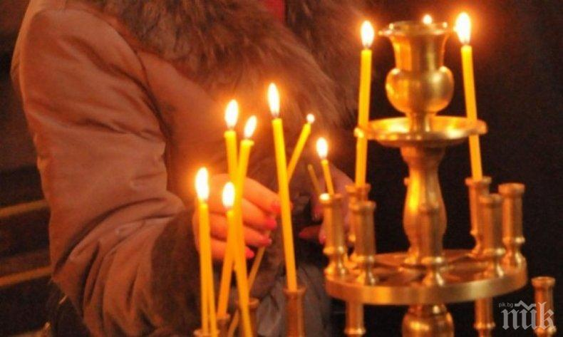 Църквата изкарва 17 млн. от свещи