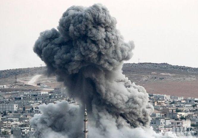 ИЗВЪНРЕДНО! Силна експлозия разстърси Алепо