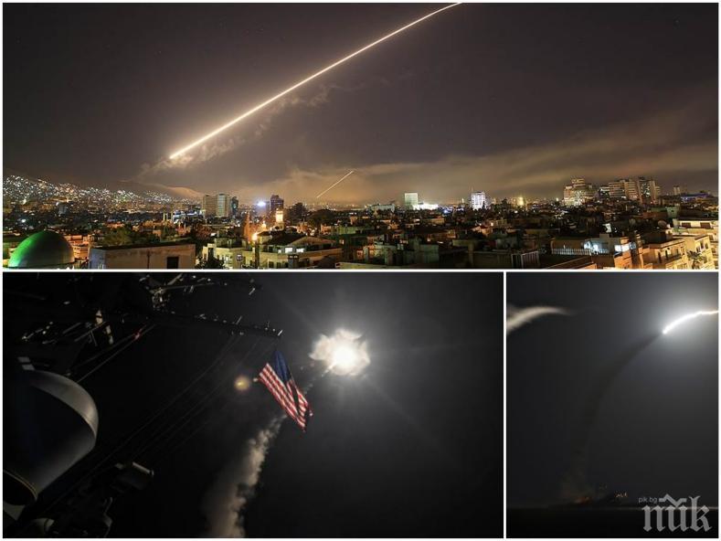 ИЗВЪНРЕДНО! Военният министър на САЩ за ударите над Сирия: Изпратихме ясно послание на Асад