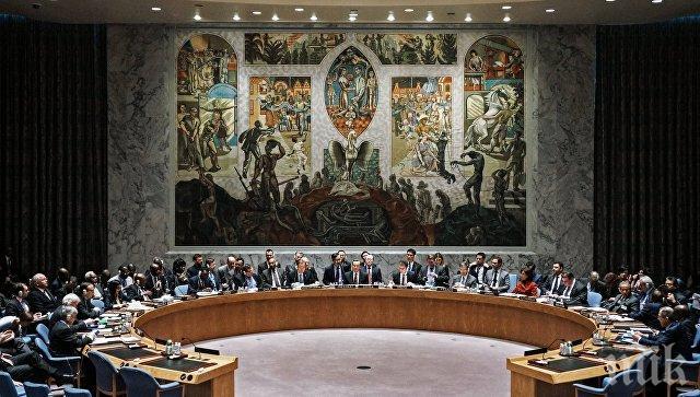 САЩ, Великобритания и Франция със своя проекторезолюция за Сирия
