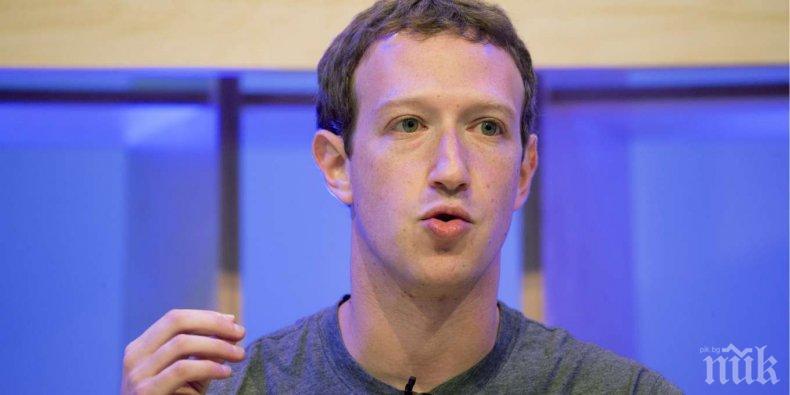 Facebook е увеличила с 50% разходите за безопасността на Зукърбърг през 2017 г.