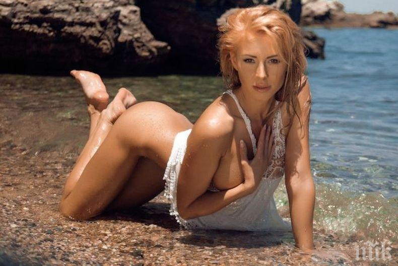 ПЪРВО В ПИК! Елена Кучкова стана майка тайно! Първият наследник на плеймейтката е... (СНИМКА)