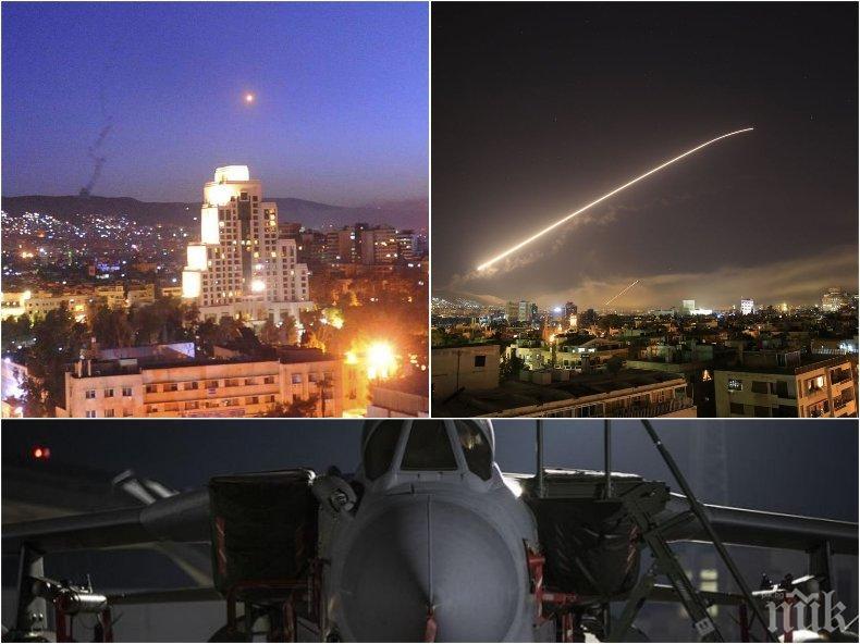 ВОЕНЕН ПРОВАЛ! Нито една ракета на Великобритания не е поразила цел в Сирия (ВИДЕО/СНИМКИ)