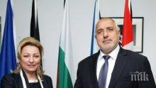 Борисов обсъди подготовката на срещата в София за Западните Балкани с ръководителя на делегацията на ЕС в Косово
