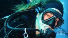 Алекс Раева се гмурка на Малдивите (СНИМКИ)