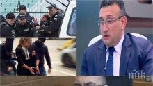 ИЗВЪНРЕДНО! Комисар Младен Маринов с ексклузивен коментар за ранената полицайка, ареста на Иванчева и къде е Пелов