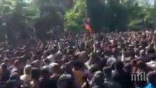 От полицията предупредиха протестиращите в Ереван за възможно използване на специални средства