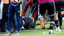 Разбиха главата на треньор в дербито на Турция