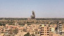 Противовъздушните сили на Сирия са  прихванали ракети в близост до Хомс