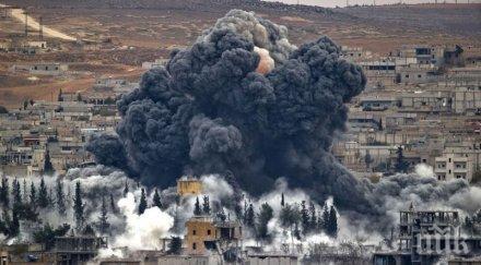 Силите на Асад нанесоха над 60 въздушни удара в провинциите Хомс и Хама