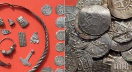 УНИКАЛНА НАХОДКА! Откриха съкровище на Синия зъб отпреди 1000 години