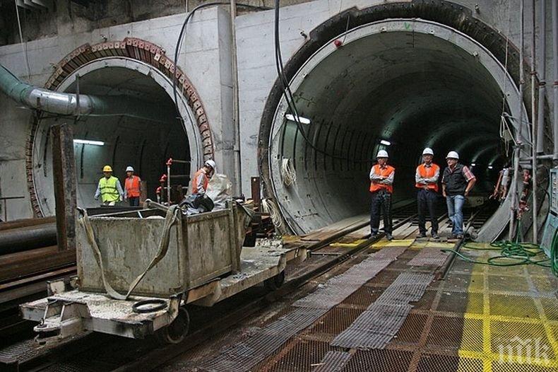 ВАЖНО! Промени в движението в част от центъра на София заради строежа на метрото