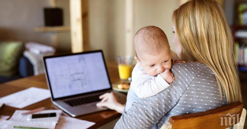 72% от самотните майки в България са на прага на бедността