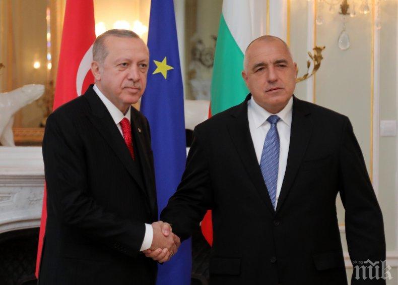 ПЪРВО В ПИК! Ердоган изпрати горещо писмо на Борисов! Ето благодарствените думи на турския президент